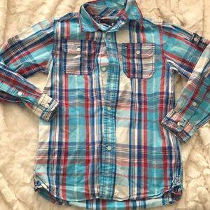 Tommy plaid shirt